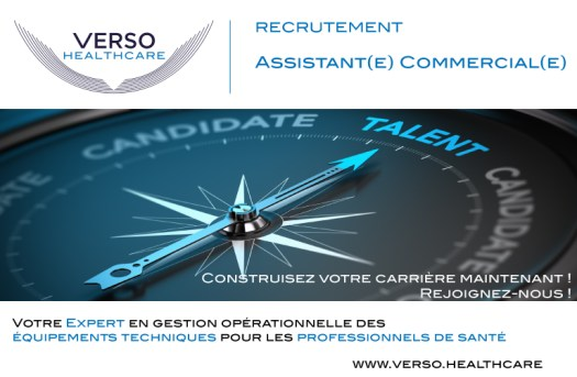 Recrutement assistant(e) commercial(e)