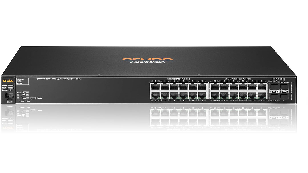 HPE Aruba 2530-24G J9776A The Homecoming Queen of Aruba Switches