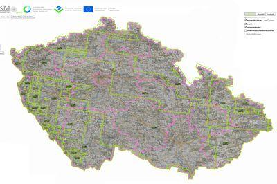 Letecká mapa ČR 1947 - 53
