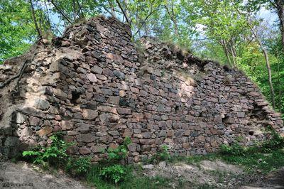 Zřícenina hradu Strádov