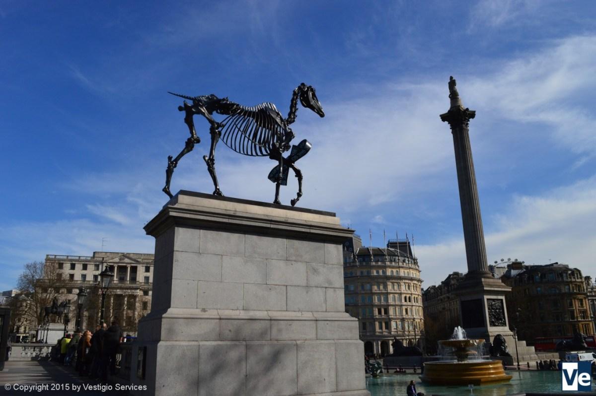 Gift Horse Hans Haacke