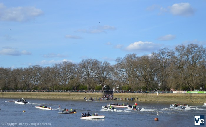 The Boat Race: лодочная регата на Темзе
