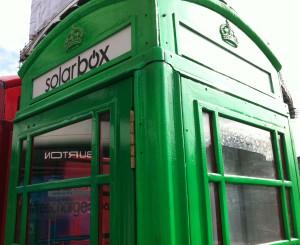 Красная телефонная будка Лондон
