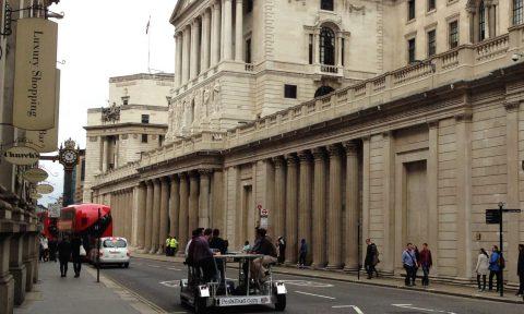 Pedibus in London: модный велосипед для развлечений