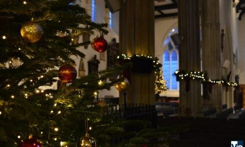 Англиканские церкви Лондонского Сити перед Рождеством