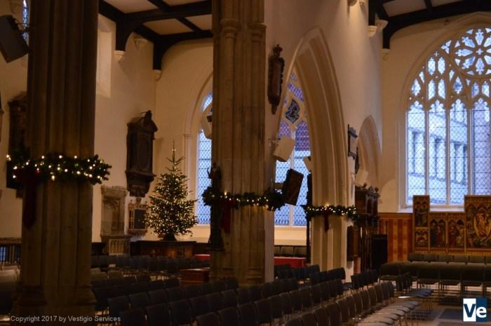 Англиканская церковь Лондонского Сити перед Рождеством