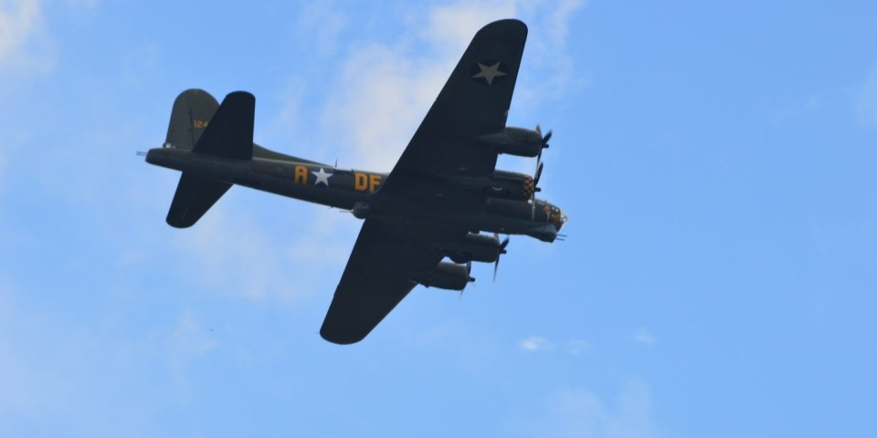 Heroes at Highclere: B17 Flying Fortress