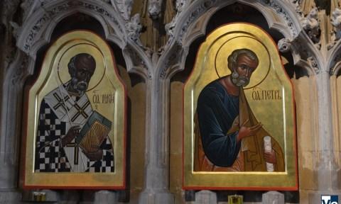 Уинчестерский собор: Сергей Федоров, иконы