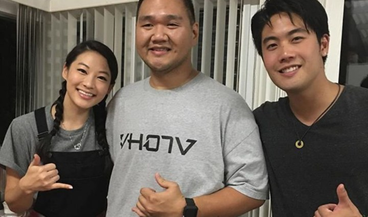 Spotted with Arden Cho and Ryan Higa