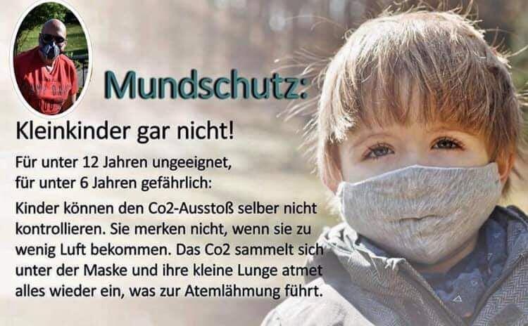Mundschutz bei Kinder