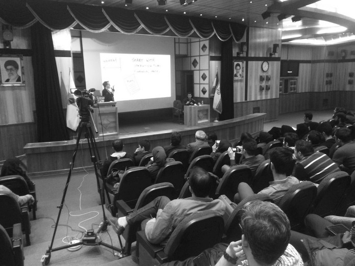 In 2015 I was invited to lecture on Startup Entrepreneurship (The Lean Launchpad Curriculum from Stanford) at QIA University in Iran