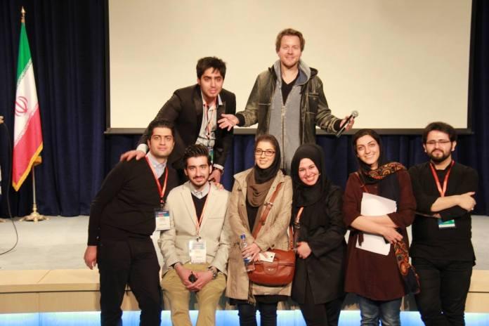 The fabulous organizing team of Shahid Beheshti