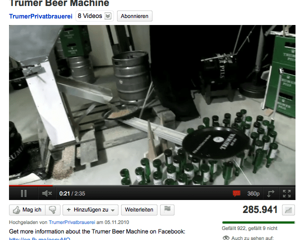 Trumer Beer Machine