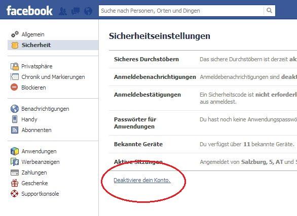 Account Löschen Link account löschen bzw deaktivieren so geht s social