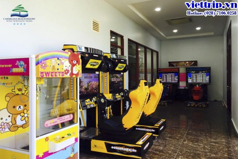 Carmelina Beach Resort - Game center