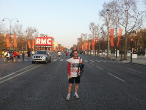 Warly avant le marathon de Paris 2013