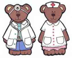Doctor and Nurse Teddy Bears