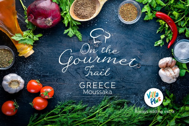 On the Gourmet Trail. Greece: Moussaka