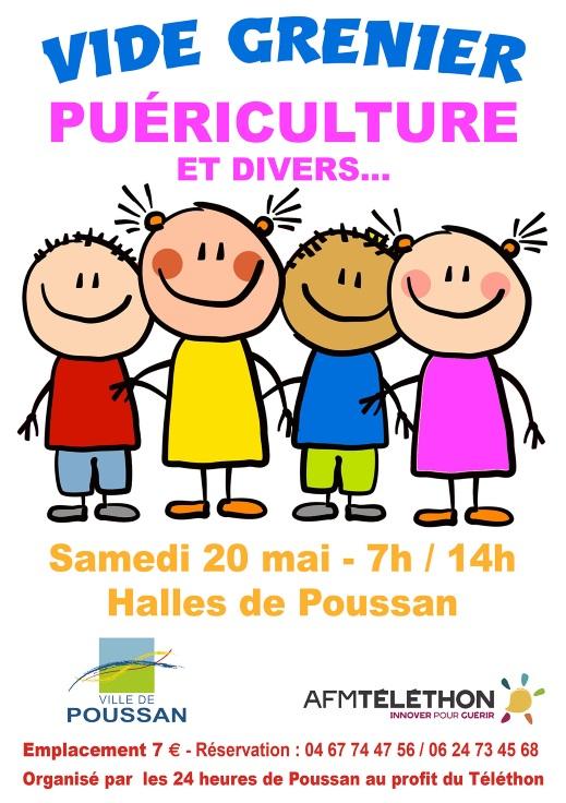 un vide grenier puericulture et divers action caritative le blog officiel de la ville de poussan