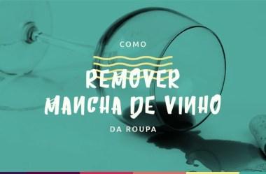 Como remover mancha de vinho da roupa