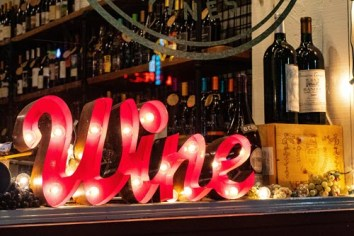 red-wine-marquee-signage-on-table-1374552
