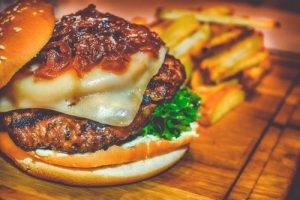 Smile and Say, 'Cheese… burger!' With Your Glass of Wine