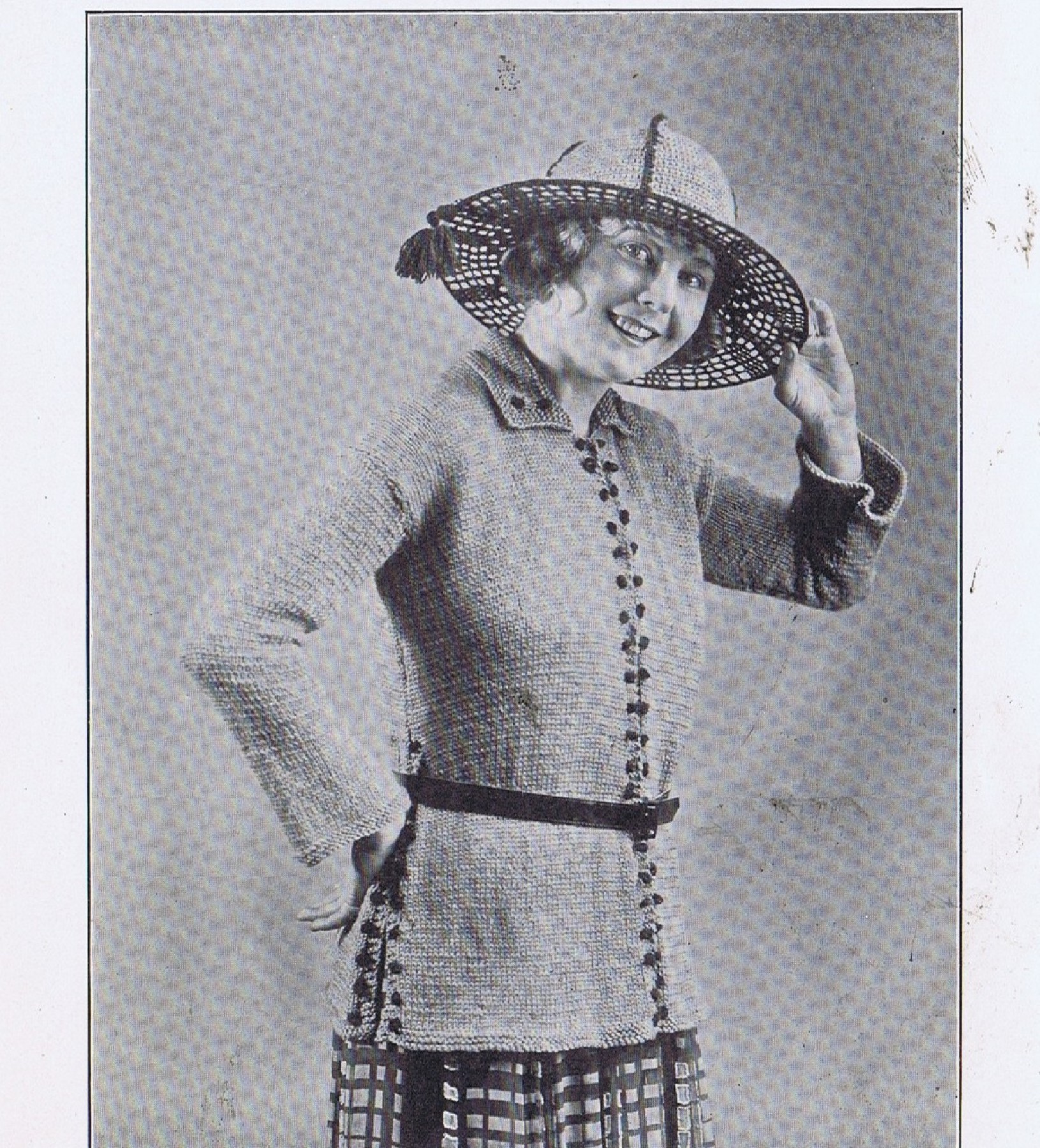 FREE Vintage 1920s Knitting and Crochet Pattern Book