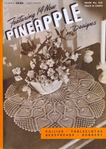 230 spool cotton pineapple crochet pattern book
