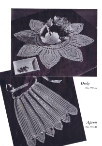 Free Vintage Pineapple Patterns Doilies Tablecloths Runners, Etc.