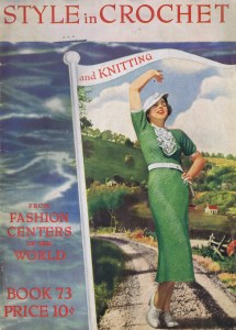 My Favorite Vintage Patterns for the Week vintage 30s crochet patterns dresses blouse patterns