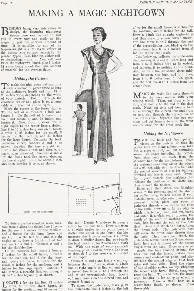Free Vintage Newspaper Sewing Patterns Discover Friday