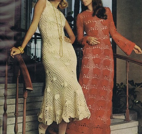 Free Vintage Knitting Crochet Needleart Patterns
