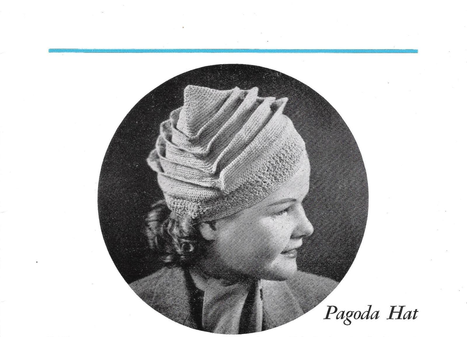 Free Vintage Crochet Hat and Bag Patterns - Vintage ...
