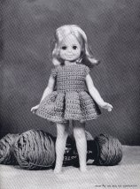 11 Virginia Lakins Knitting Crochet Doll Clothes Patterns