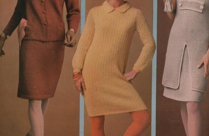 Tunic Dress Suit Sheath vintage pattern