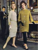 2 Piece Tunic Dress | Evening Coat Pattern