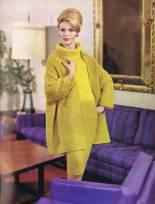 Vintage Swing Coat and Sheath Dress Set