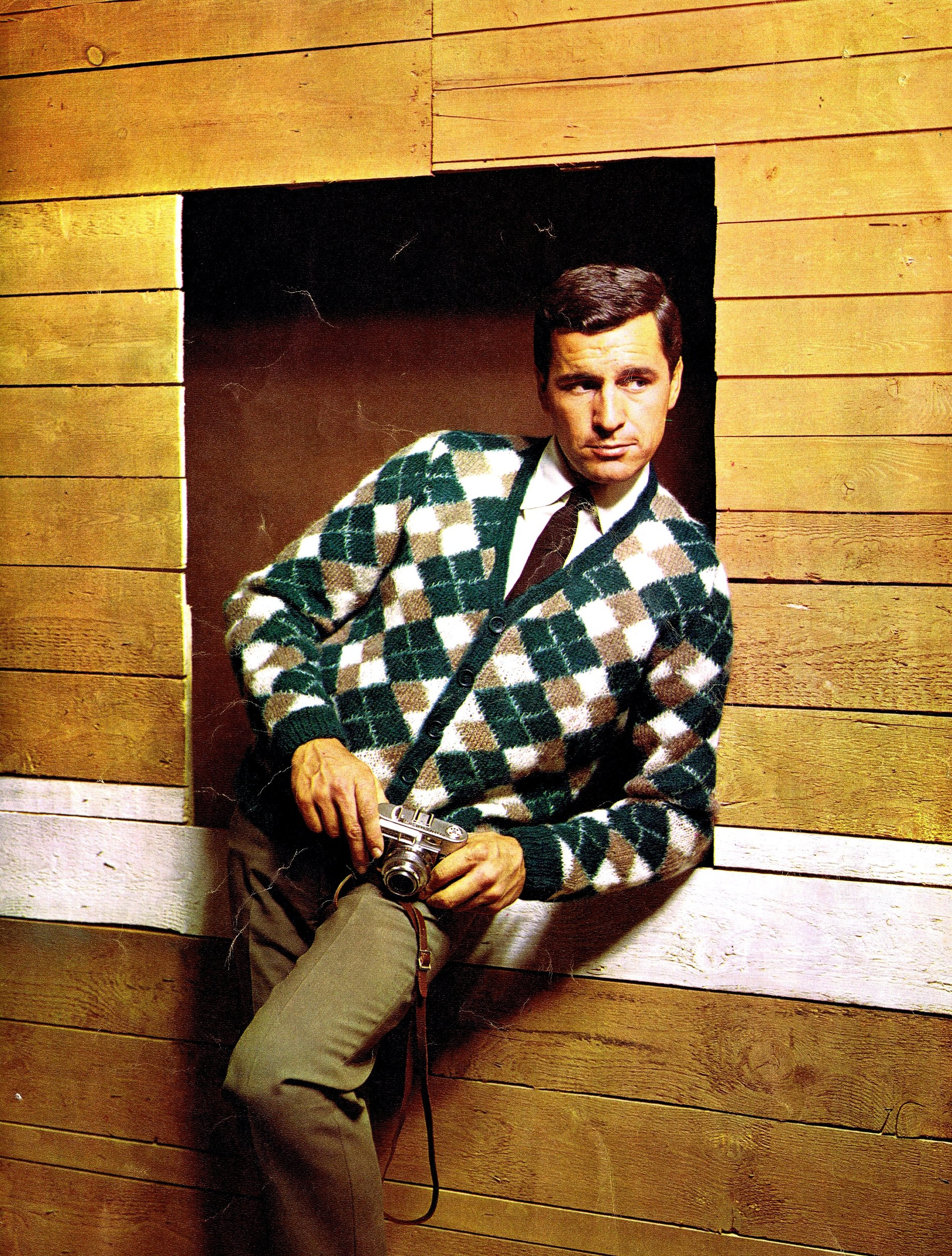 Attractive Mens Knitting Patterns Free Ensign - Blanket Knitting ...