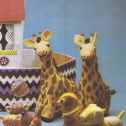 vintage sewing pattern noahs ark animal patterns