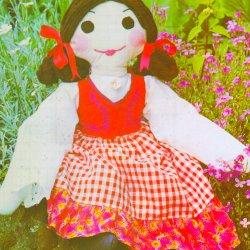 vintage rag doll pattern kelly