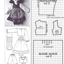 Free vintage doll and toy patterns to make vintage patterns