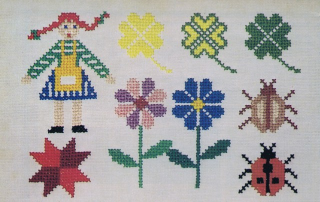 Embroidery Magic cross stitch motif patterns