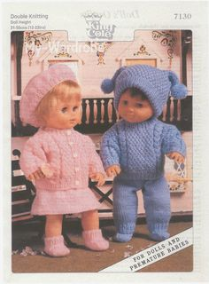 free vintage doll patterns sewing crochet knitting