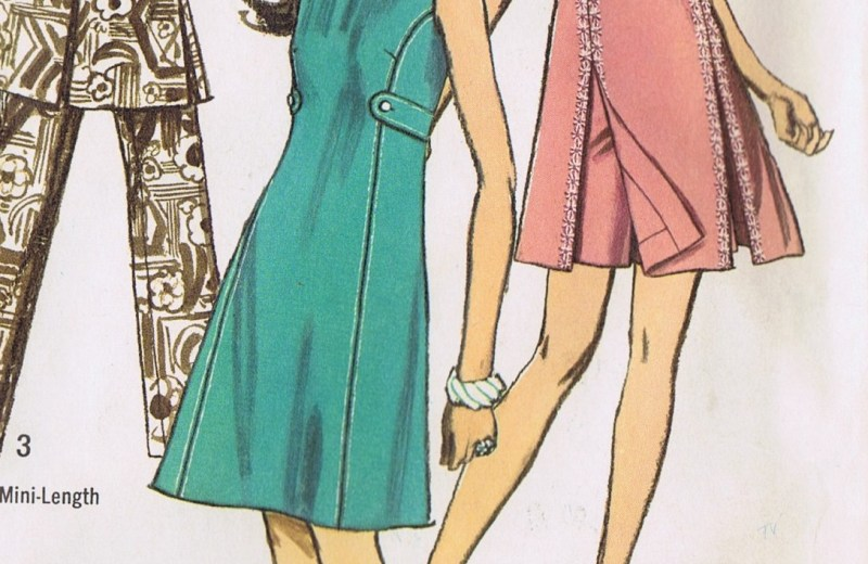 8788 simplicity dress pants sewing pattern vintage 70s