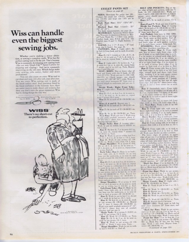 McCalls Needlework Spr Sum 1971 96
