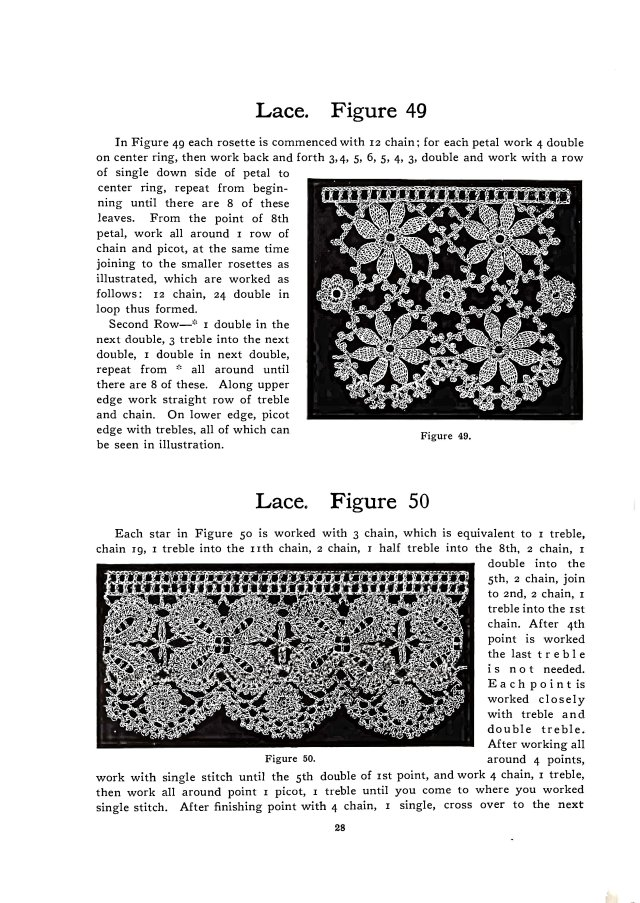 irish crochet lace pattern