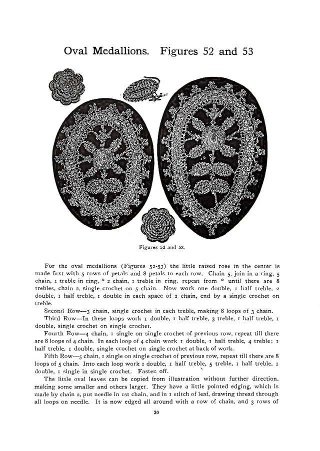 oval medallions