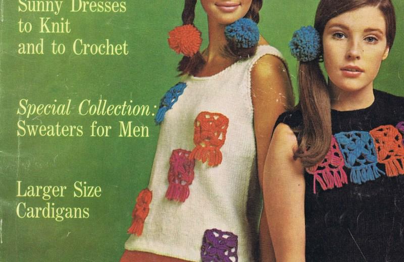Best Free Vintage Knitting Crochet Patterns 1967