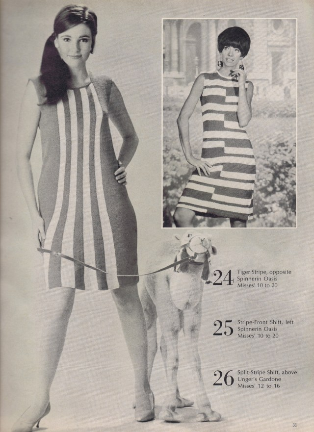 Best Free Vintage Knitting Crochet Patterns 1967