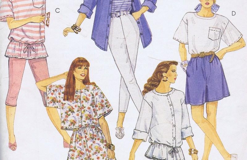 5268 Tunic Shorts Leggings Sewing Pattern MCCALLS